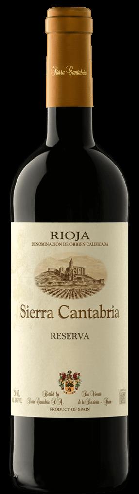 Sierra Cantabria Reserva 2012 - D.O.Ca Rioja