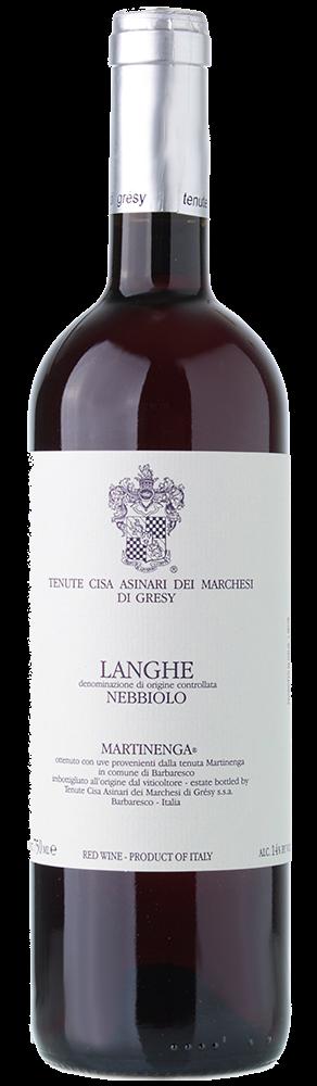2018 Langhe Nebbiolo, La Martinenga Marchesi di Grésy, Piemont