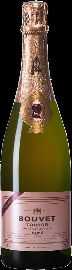 Cuvée Trésor Brut Rosé, Crémant von der Loire