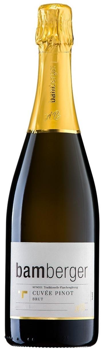 Winzersekt Cuvèe Pinot, Brut 2015 Sektkellerei Bamberger, Nahe