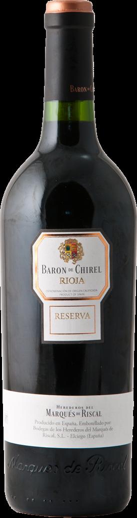 Baron de Chirel Reserva 2012 - D.O.Ca Rioja - Riscal