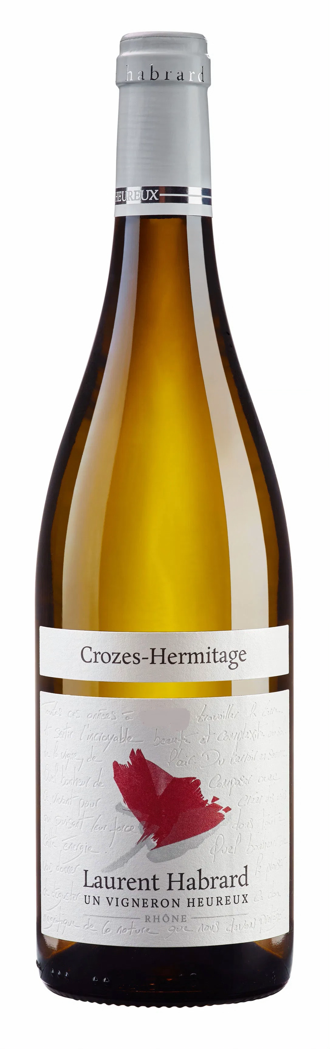 2017 Domaine Laurent Habrard, Crozes-Hermitage Blanc
