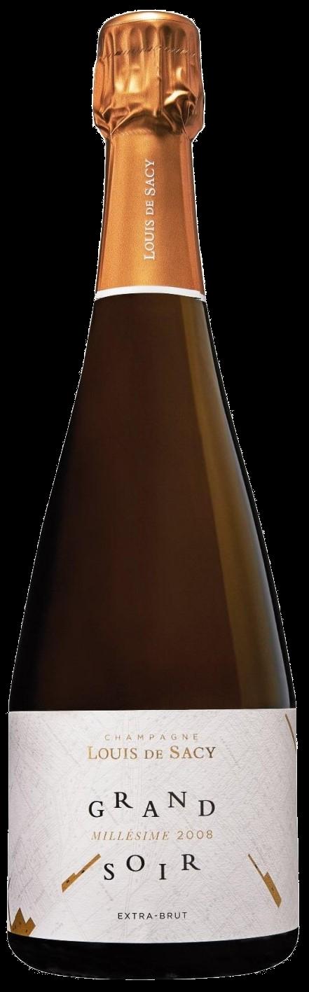 Champagner Grand Soir millésimé 2008 Louis de Sacy