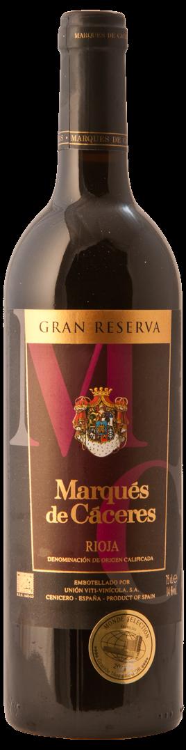 Marques de Caceres Gran Reserva 2010 - D.O.Ca Rioja