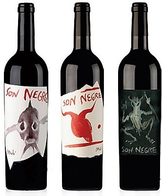 Anima Negra Son Negre Vertikale der Jahrgänge 2004, 2005, 2007